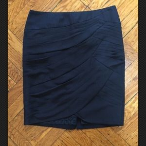 Anthropologie Coquille Skirt Surging Blue Size 4